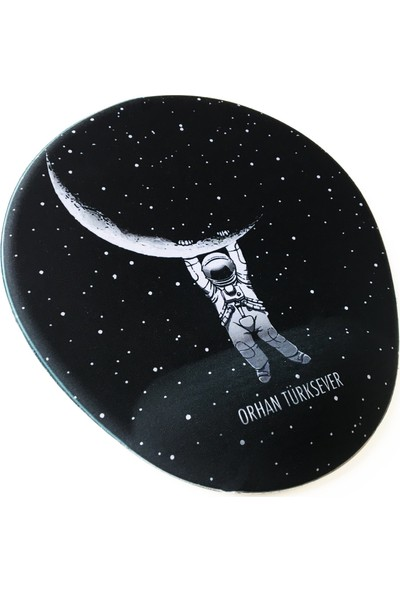 Office Küp Bilek Destekli Mouse Pad Astronot