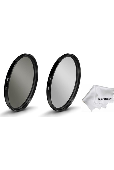 Beta Canon 18-200 mm Lens İçin 72 mm Koruyucu Uv + Cir Cpl Circular Polarize Filtre