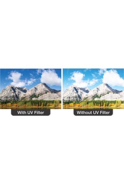 Tianya Nikon 18-140 mm Lens İçin 67 mm Slim Koruyucu Uv Filtre + Hb-32 Bayonet Parasoley