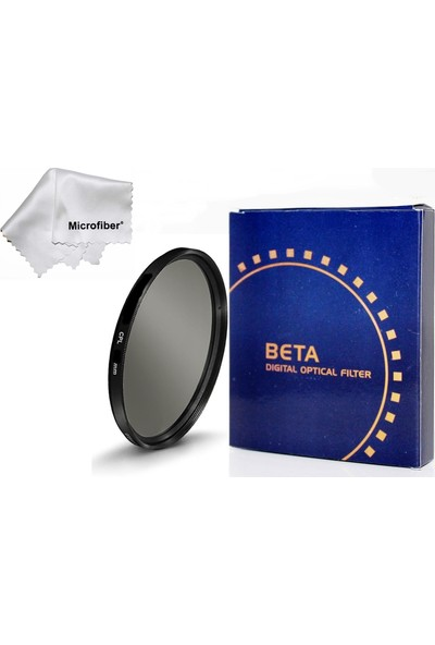 Beta Nikon D5000 D5100 D5200 18-55 mm Lens İçin 52 mm Cpl Circular Polarize Filtre