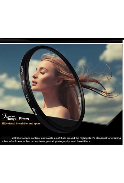 Tianya Nikon D5000 D5100 D5200 18-55 mm Lens İçin 52 mm Soft Diffuser Yumuşatıcı Filtre