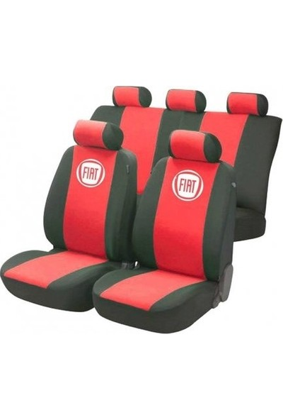 SM Fiat Albea Serisi Special Kılıf Ön Ve Arka Koltuk Kılıf Kırmızı