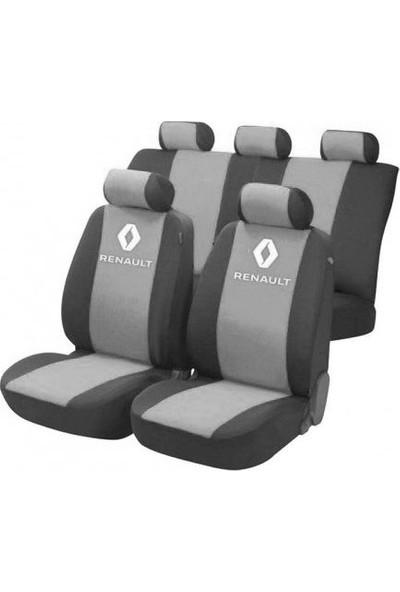 SM Renault Symbol Serisi Special Kılıf Ön Ve Arka Koltuk Kılıf Gri