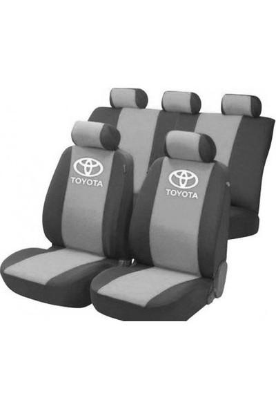 SM Toyota Corolla Serisi Special Kılıf Ön Ve Arka Koltuk Kılıf Gri