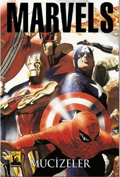 Marvels Mucizeler Avengers Kapak