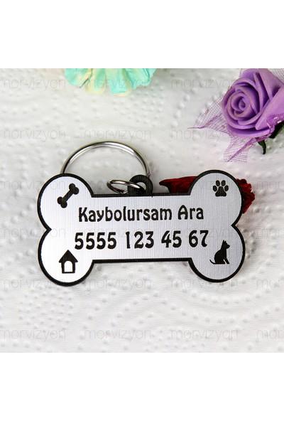 Morvizyon Köpek İsim Künyesi Kaybolursam Ara - M232