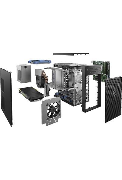 Dell Precision Delta Intel Xeon E-2124 8GB 256GB SSD Nvidia Quadro P620 Windos 10 Pro Masaüstü Bilgisayar T3630