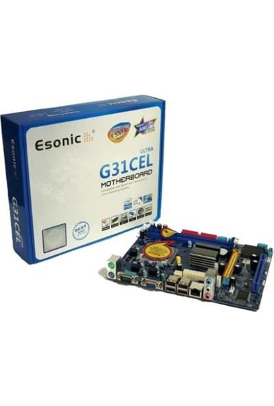 Esonic G31CEL 775 Pin DDR2 Vga Lan Anakart Motherboard