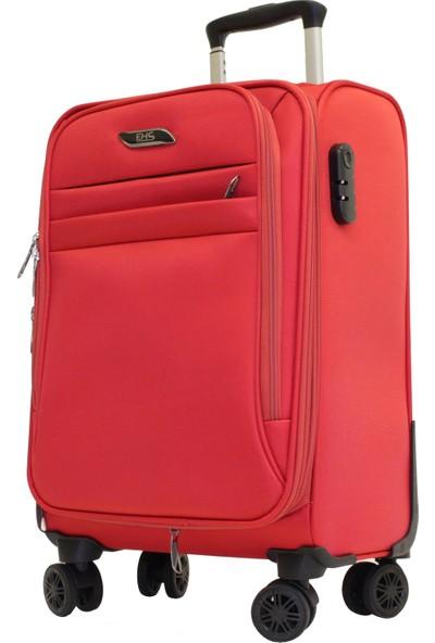 Ehs 104963-1k Ehs Kırmızı Büyük Boy Valiz, Bavul