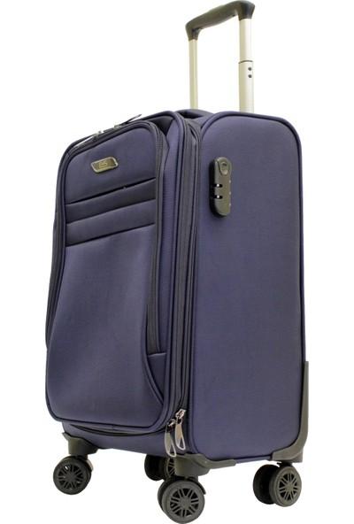 Ehs 104963-1l Ehs Lacivert Büyük Boy Valiz, Bavul