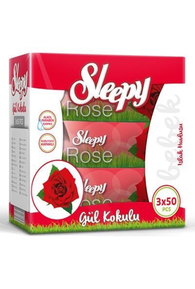 Sleepy Sensitive Gül Kokulu 3 x 50