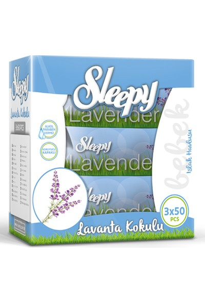 Sleepy Sensitive Lavanta Kokulu 3 x 50