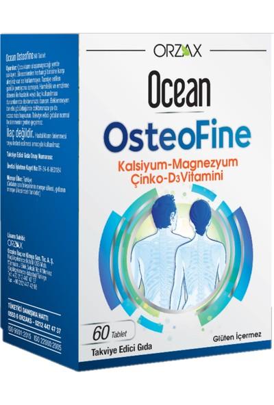 Orzax Ocean OsteoFine Takviye Edici Gıda 60 Tablet