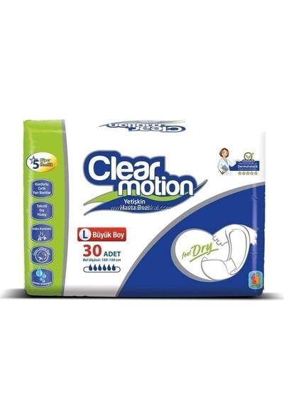 Clear Motion Hasta Bezi Large 30'lu