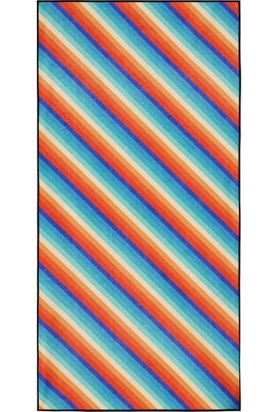 Essential Towel Ast0Plbb003 Desenli Havlu