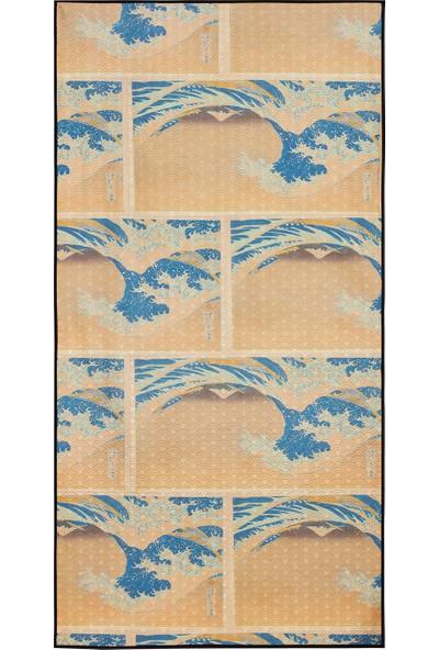 Essential Towel Ast0Plbb004 Desenli Havlu