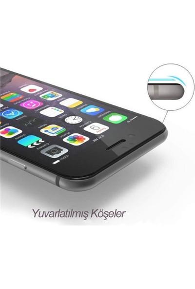 Zengin Çarşım Apple iPhone 6-6s Plus Tam Kaplayan 9D Kavisli Ekran Koruyucu Film Siyah
