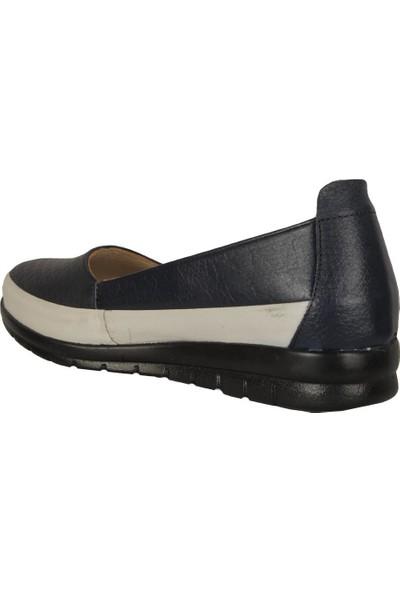 İmge 1122 Laci %100 Deri Anne Kadın Babet Ayakkabı