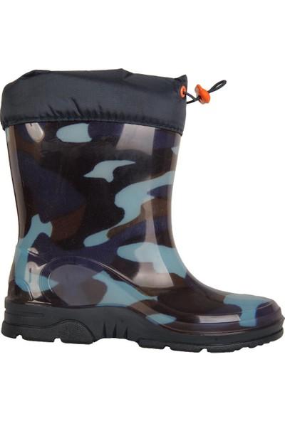 Arısan 223 Termal Kürklü Kışlık Erkek Çocuk Çizme Bot Ayakkabı