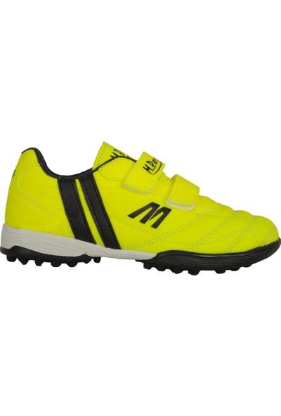 M.P 191-7374Ft Yeşil Cırtlı Halısaha Çocuk Futbol Ayakkabı
