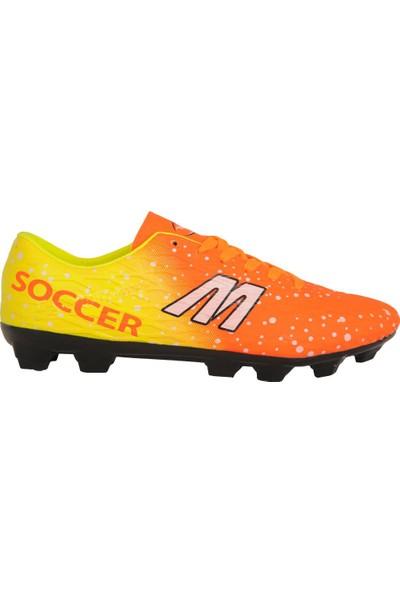 M.P 191-7371 Turuncu Krampon Erkek Futbol Spor Ayakkabı