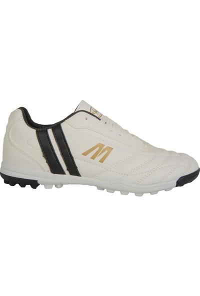 M.P 191-7374 Beyaz Halısaha Erkek Futbol Spor Ayakkabı