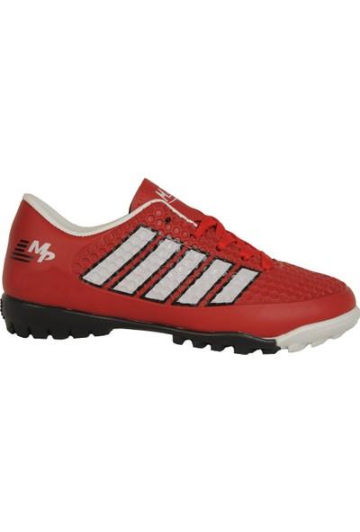 M.P 191-7372Ft Kırmızı Halısaha Erkek Çocuk Futbol Spor Ayakkabı