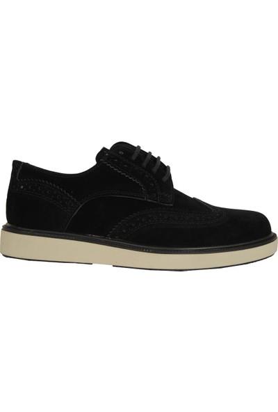 Conteyner 127 Siyah Nubuk Günlük Erkek Çocuk Klasik Ayakkabı