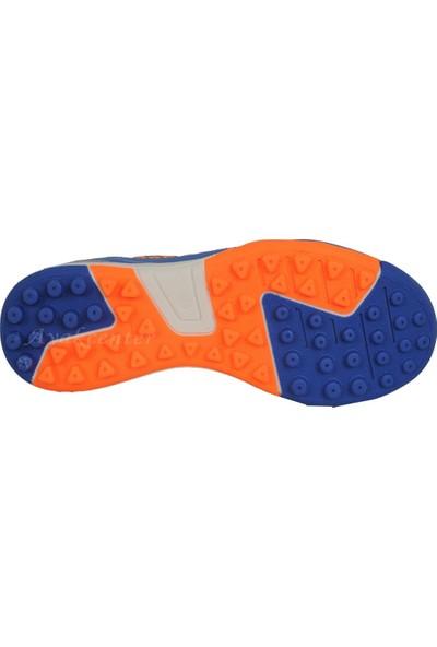 M.P 191-7384 Mavi-Siyah Halısaha Erkek Futbol Ayakkabı