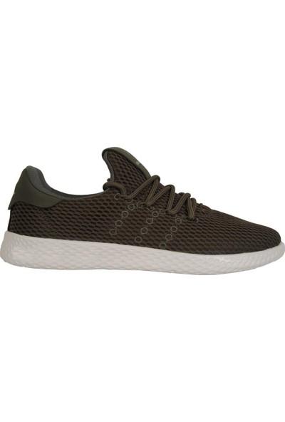 Dunlop 114101 Haki Yazlık Yürüyüş Koşu Erkek Spor Ayakkabı