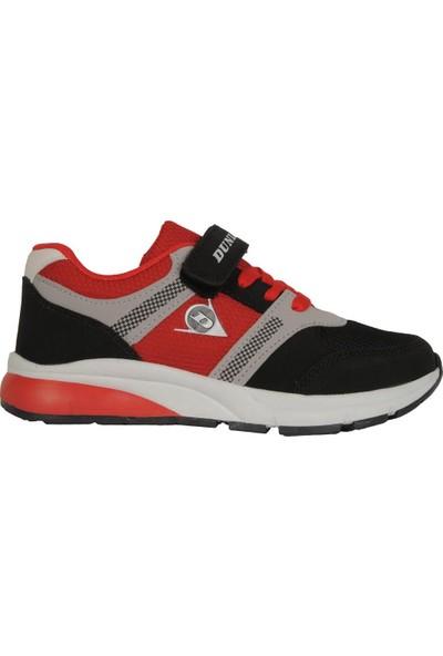 Dunlop 118103F Siyah-Kırmızı Yazlık Erkek Çocuk Spor Ayakkabı
