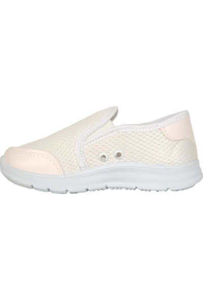 Bolimex 3030 Beyaz Bağsız Yazlık Kız Erkek Çocuk Spor Ayakkabı