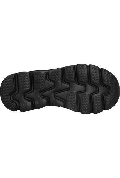 M.P 191-5806Ft Siyah Cırtlı Ortopedik Erkek Çocuk Spor Ayakkabı