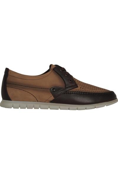 Dropland 3440 Kum %100 Deri Günlük Erkek Klasik Babet Ayakkabı