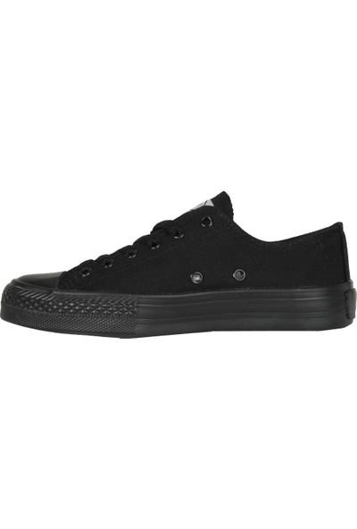 M.P 191-6530 Kanvas Siyah Yazlık Kadın Erkek Spor Ayakkabı