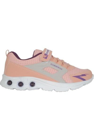 Hammır Cek 1039 Pembe Yazlık Günlük Kız Çocuk Spor Ayakkabı