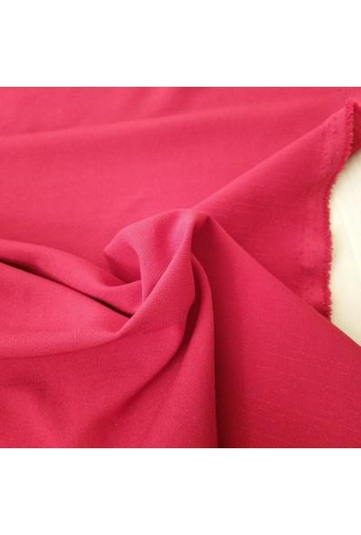 Bursa Kumaşçısı Abiyelik Ceketlik Kumaş - Likralı Simli Kırmızı