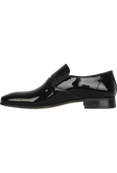 Nevzat Özel 1099 Siyah %100 Deri Günlük Erkek Klasik Ayakkabı