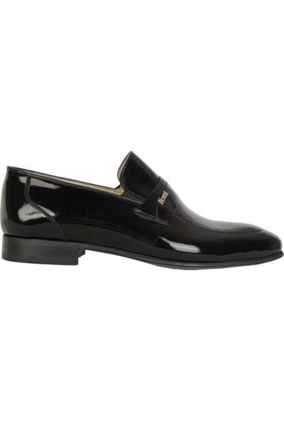 Nevzat Özel 5826 Siyah %100 Deri Günlük Erkek Klasik Ayakkabı