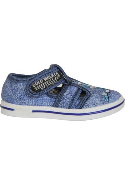 Walker Kids Kot Cırtlı Günlük Erkek Çocuk Sandalet Ayakkabı