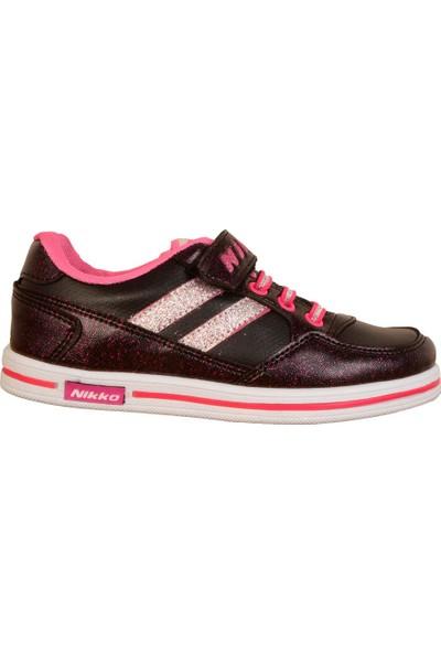Nikko 556 Cırtlı Mevsimlik Günlük Kız Çocuk Spor Ayakkabı
