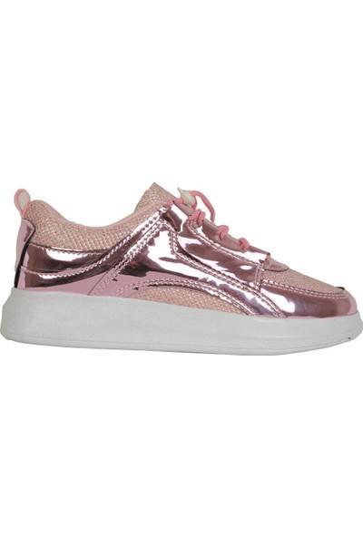 Mr.Maxsis 433 Pembe Günlük Rahat Kız Çocuk Spor Ayakkabı