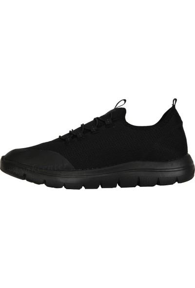 N Step Away Siyah Bağsız Yazlık Günlük Yürüyüş Erkek Spor Ayakkabı
