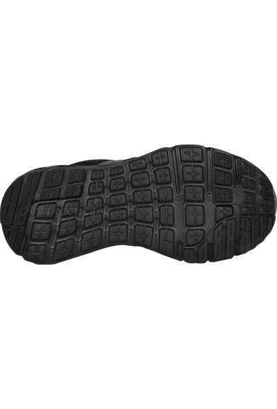 N Step Lucky Siyah Yazlık Yürüyüş Koşu Günlük Erkek Spor Ayakkabı