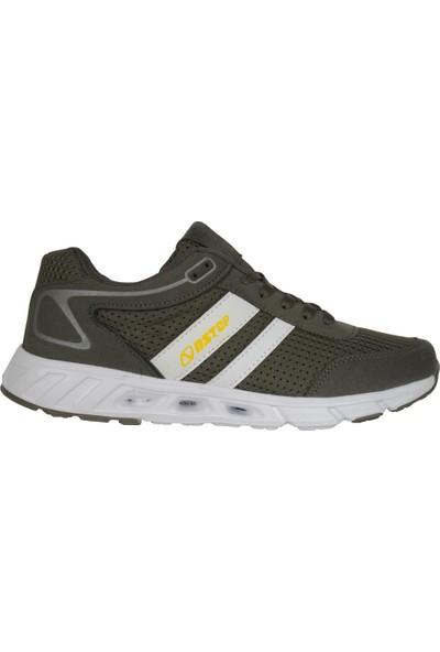 N Step Lucky Haki Yazlık Yürüyüş Koşu Günlük Erkek Spor Ayakkabı