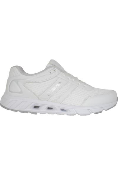 N Step Lucky Beyaz Yazlık Yürüyüş Koşu Günlük Erkek Spor Ayakkabı