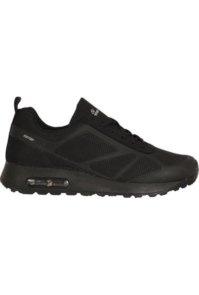 N Step Fourth Siyah Air Yürüyüş Koşu Günlük Erkek Spor Ayakkabı