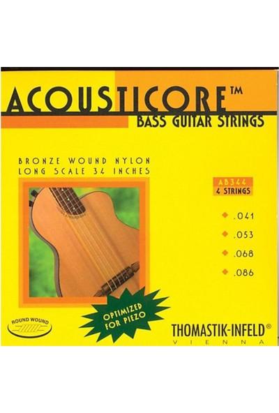 Thomastik Infeld AB344 Akustik Bas Gitar Takım Tel