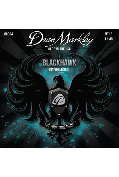 Dean Markley Blackhawk 8004 Kaplamalı Medium 11-49 Elektro Gitar Takım Tel