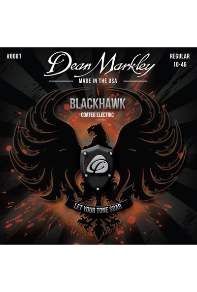 Dean Markley Blackhawk 8001 Kaplamalı Regular 10-46 Elektro Gitar Takım Tel
